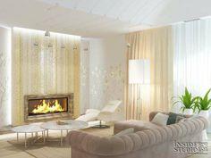 Интерьер загородного  дома  470 m2. Дизайн проект и реализация.   Architect Irina Richter. INSIDE-STUDIO Prague Home Decor, Decor, Curtains