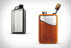 The GSI Boulder Flask is a new way to carry your favorite beverage with you on your adventures, this new ruggedized hip flask has some cool features that turn it into a real must have to prevent damage bumps or scrapes out on the trail. The slim and