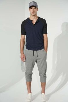 "New York Fashion Week: Men's Trendsetters - ""sweatpants"" Gents Men's RTW SS15"