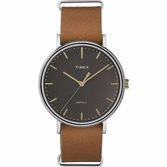 A Timex timepiece or strap means quality, craftsmanship, and style. A new Fairfield Slip-Thru Leather Watch is no different. Get yours today and shop Timex for watches and straps online. Mens Watches Leather, Watches For Men, Women's Watches, Luxury Watches, Timex Indiglo, Unisex, Mens Gift Sets, Leather Slip Ons, Black And Brown