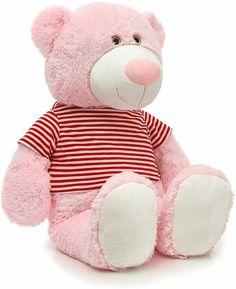 Giant Teddy Bear, Plush, Toys, People, Pink, Handmade, Animals, Ebay, Women