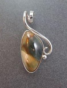 http://www.johnsonmetalarts.com/jewelry.html #SilverJewelry