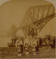 Black Watch at the Forth Bridge