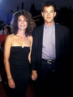 Tom Hanks and Rita Wilson Hanks and Wilson are one of Hollywood's longest-lasting couples. They wed in 1988.