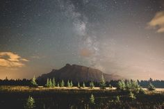 4:37am in the Canadian Rockies.