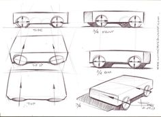 Car drawing tips by Luciano Bove | Car Design Education Tips