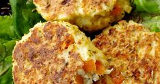 Recipe croquettes of vegetables. Healthy Breakfast Recipes, Vegetarian Recipes, Healthy Eating, Bbq Zucchini, Low Carb Recipes, Cooking Recipes, Les Croquettes, Brunch, Food 101