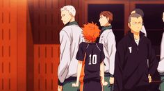 Omg Tanaka doesn't even question Hinata's action he's so used to them