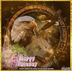tuesday wolf eagle