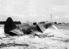 Брошенный МиГ-3