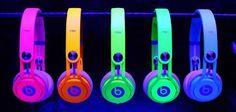 Neon beats, I got the blue ones!!