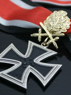 The Knights Cross of the Iron Cross with Golden Oak Leaves Swords & Diamonds was the highest award available to the German military with only one ever being awarded throughout the entirety of the War. It was intended to be awarded after 'Ultimate Victory' was achieved at the War's end to the Reich's 12 greatest war heroes. However, in 1945 Adolf Hitler prematurely awarded Hans-Ulrich Rudel, a legendary Luftwaffe bomber pilot, for achieving the most successful aerial ground assaults in…