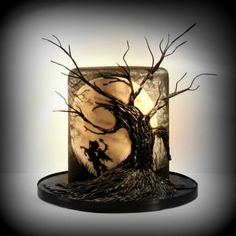 Sleepy Hollow Cake - Cakeneweenie Collaboration - by Mrscake @ CakesDecor.com - cake decorating website