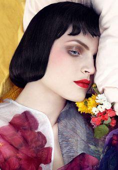 Vogue Italia January 2008 Model: Guinevere van Seenus