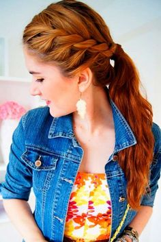 Cute Rope Braid Hairstyles picture 1