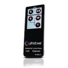 Photive RC-4 Wireless Remote Control For Canon EOS Rebel T3i, T2i, T1i, XT, XTI, 60D, 7D (Electronics) http://www.amazon.com/dp/B0064PPEKG/?tag=dismp4pla-20
