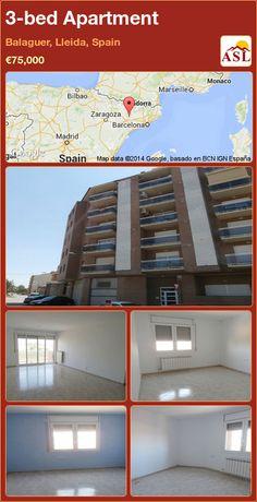 3-bed Apartment in Balaguer, Lleida, Spain ►€75,000 #PropertyForSaleInSpain