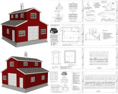 pole building with apartment above   Great Selection of Monitor Barn Plans