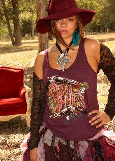 JuNK GYPSY custom PIStol Annie's tank for Miranda lambert's band. .