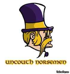 Uncouth Norseman, British NFL Logos for the Minnesota Vikings and other NFC North teams.
