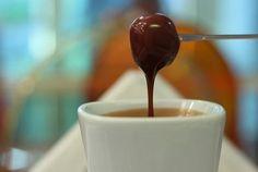 Lanche/Doce - Fondue de chocolate