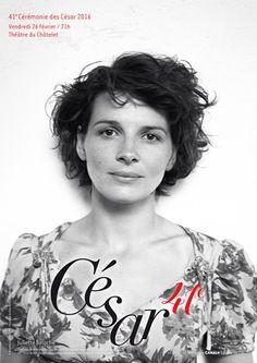 Juliette Binoche, Cérémonie des César  2016