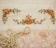 Toalha de Lavabo | Delicate Flowers Bordados | Elo7