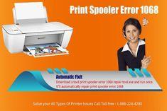 How to fix Printer spooler Error? via @