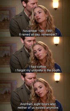 It rained all day, remember? ~ Desperate Housewives Quotes ~ Season 6, Episode 9: Would I Think of Suicide?