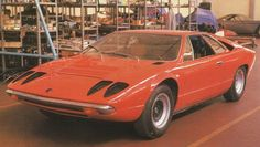 OG | 1970 Lamborghini Urraco | Prototype designed by Marcello Gandini at Bertone.