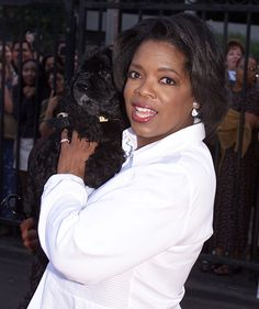 Oprah and her dogs