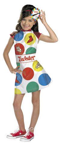 Girls Twister Costume - Game Costumes