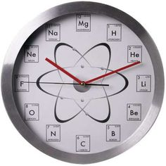This Chemistry Clock Makes Time of the Element #periodictable trendhunter.com