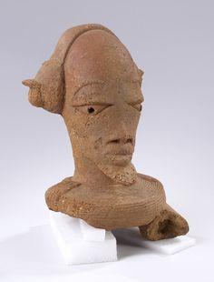Nok Terracotta Figure, Nigeria