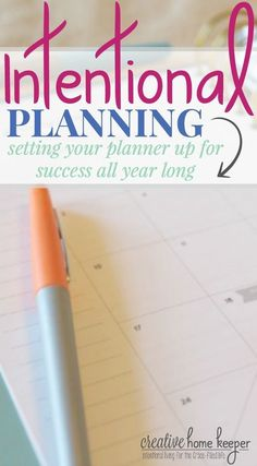Taking some time to be intentional about setting your planner up at the start of the year not only helps to be more productive and better track your goals but also encourages you to really examine your priorities.