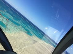 Helicopter Ride over the Great Barrier Reef with @maykingtea