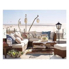39 Cool Sea And Beach-Inspired Patios ❤ liked on Polyvore featuring home