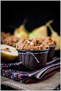 Muffins with Pears