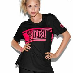 New pink top New size small pink PINK Victoria's Secret Tops Tees - Short Sleeve