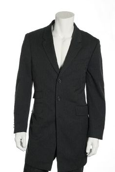 Mens Claiborne Overcoat/Topcoat Sz (L) Timeless styling...three button closure. Besom chest pocket...three flap pockets. Three inside welt pockets...four button cuffs. Classic herringbone twill. Center back vent...fully lined.  #Liz_Claiborne #Apparel
