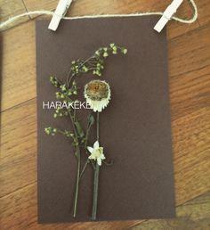 dried flower postcard 3