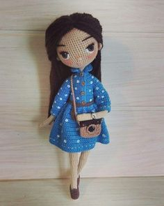 Find the perfect Photo Pin stock photos Crochet Doll Pattern, Crochet Dolls, Crochet Patterns, Crochet Hats, Homemade Toys, Doll Tutorial, Beautiful Crochet, Amigurumi Doll, Stuffed Toys Patterns