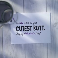 Funny Valentine Card   Valentines Day Card  by WhatIsScrapbooking, $0.49