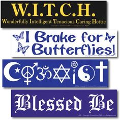 Like bumper stickers? Check us out at: www.moonaria.com Metaphysical Store, New Age, Bumper Stickers, Spelling, Spirituality, Check, Bumper Stickers For Cars, Spiritual, Games