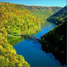 Harpers Ferry, in West Virginia, where West Virginia, Maryland, and Virginia meet. This is also where the Potomac and Shanendoah Rivers meet. ~~hh/