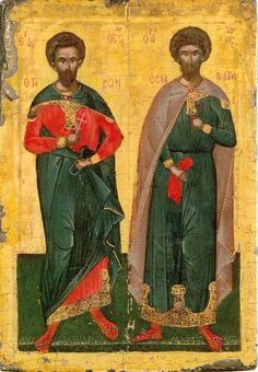 Κάντε κλικ για να δείτε την εικόνα σε πλήρες μέγεθος Religious Icons, Illuminated Manuscript, Byzantine, Ikon, Fresco, Saints, Mosaics, Religion, Painting