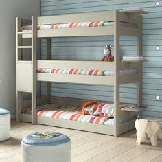 Kids Bedroom 3 Tier Triple Bunk Bed - modern - kids beds - other metro - Cuckooland
