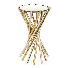 Electrum Accent Table