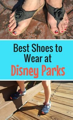 Choosing the right shoe for your Disney vacation can make or break the trip! See my choices for best shoes for your summer Disney vacation.