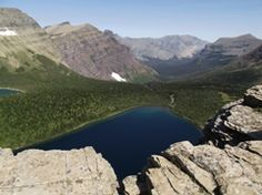 Views from Pitamakan Pass in Glacier National Park